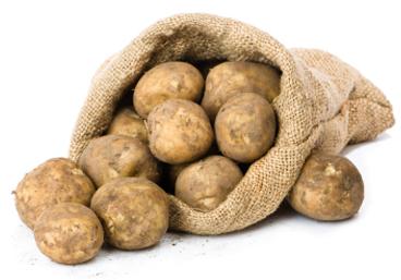 peel potatoes loop